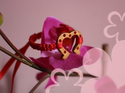 Lucky Horseshoe Bracelet for Chinese New Year