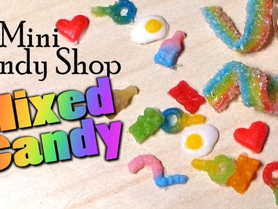 Mini Candy Shop; Mixed Candies - Pick N' Mix Polymer Clay Tutorial