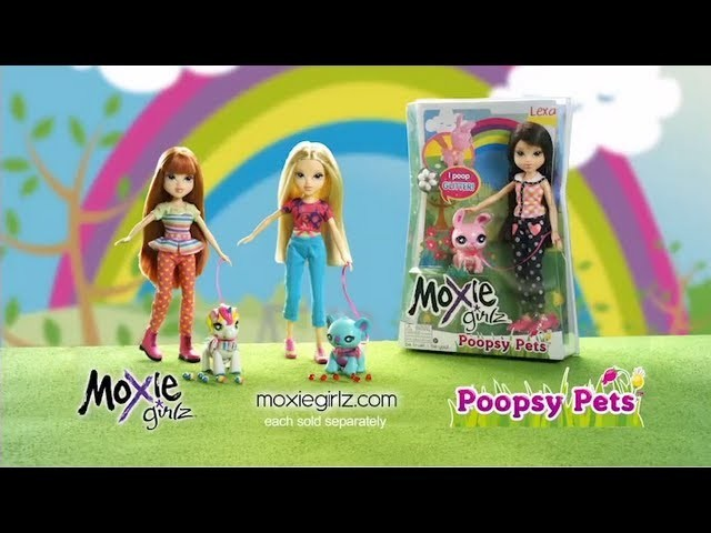 Moxie Girlz Poopsy Pets Commercial