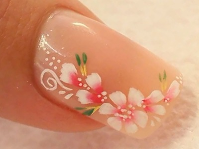 Nude Acrylic Nail Art Using Cover Pink Acrylics Tutorial Video by Naio Nails