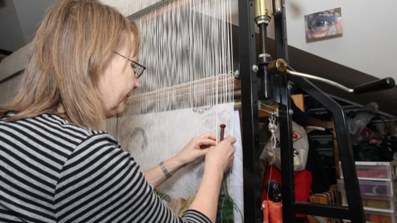 Painting With Yarn, The Making of a Tapestry by Cecilia Blomberg