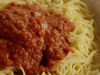Pasta Recipes - How to Make Quick Spaghetti Sauce
