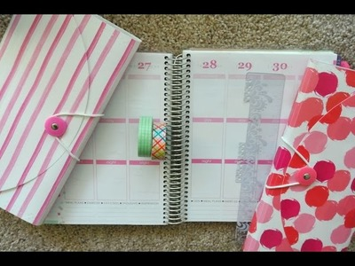 Plan With Me! Erin Condren Life Planner Weekly Spread May 25th to May 31st