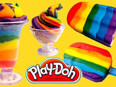 Play Doh Ice Cream Playdough Popsicles Play-Doh Scoops 'n Treats Hasbro Toys Playset