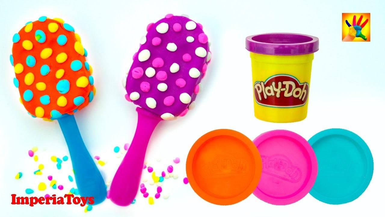 Play Doh Ice Cream Playdough Popsicles Ice Cream