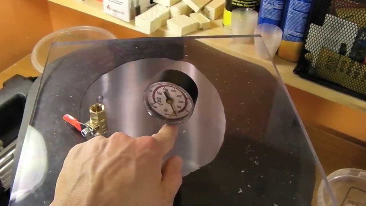Resin Casting and Mold Making Part 1: How to make a vacuum Chamber