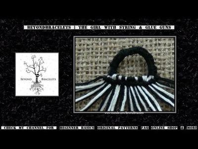 "♦ The ""Straight Start"" Loop Tutorial & Knotted Row Loom ♦"