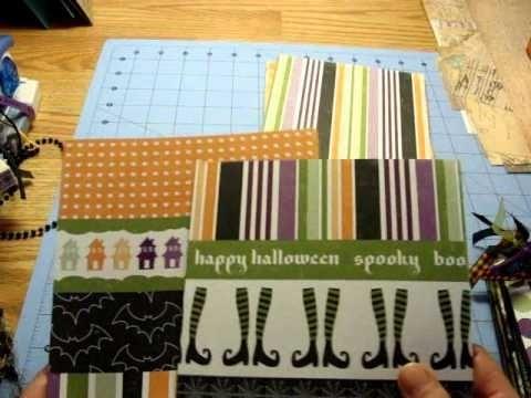 Trick or Treat Halloween Mini Album