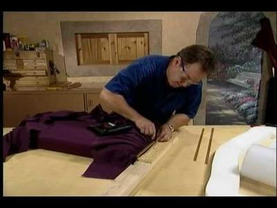 Upholstered Headboard Episode 5 - Border Foam