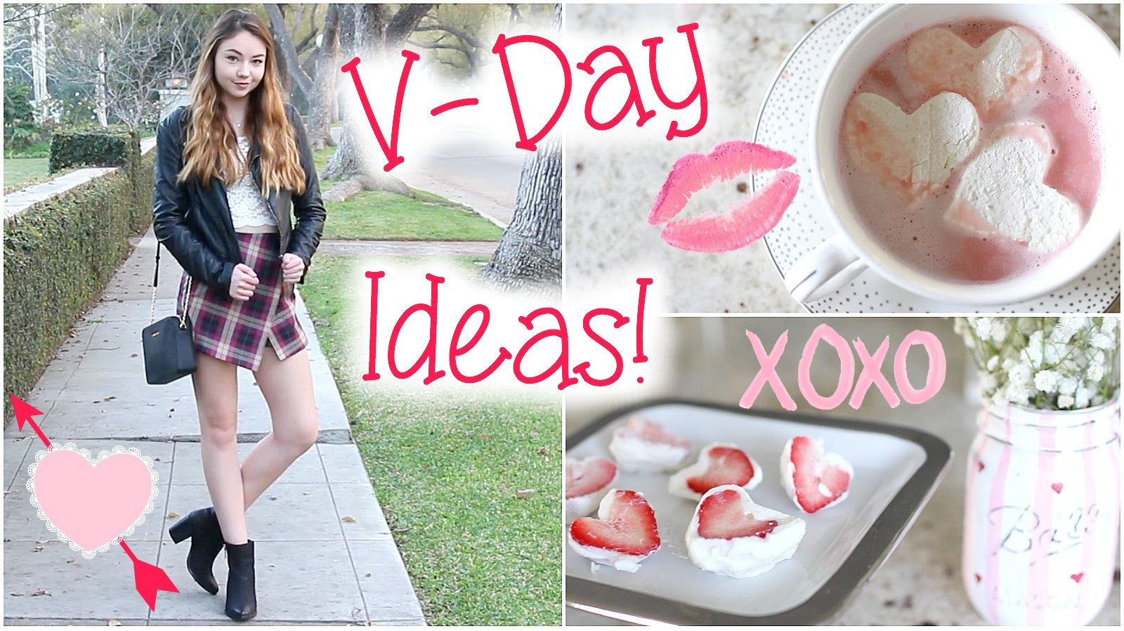 Valentine's Day Ideas: Treats, Outfit, & things to do!