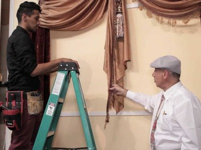 Video #26: Do it Yourself Drapes: Custom Window Treatments with Crowns, Holdbacks Sheers