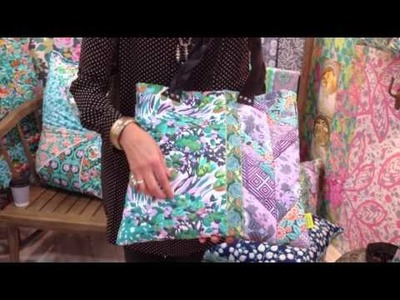 VIOLETTE FABRICS! at Fall Quilt Market in Houston '14