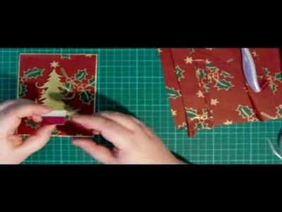 Wrapping Paper Christmas Card