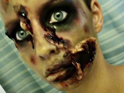 Zombie Gore Makeup Tutorial