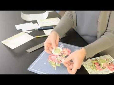 Anna Griffin's How To Make A Pretty Paintings Three-Dimensional Card