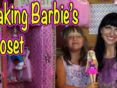 Barbie's Closet - How We Make a Cool Accessory for our Barbie Dreamhouse