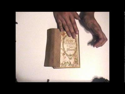 Card and Envelope Mini Album Tutorial part 2.wmv