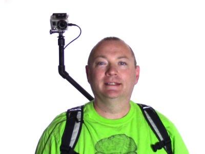 DIY Over the Shoulder GoPro Camera Rig