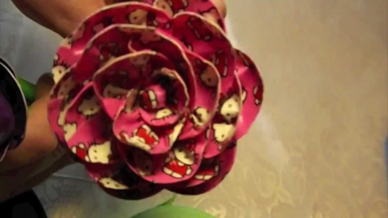 Duct Tape Rose Pen Tutorial (PART 1)