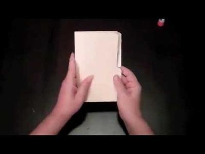 File Folder Art Journal How to Tutorial