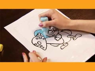Funovator - Making Peelable Stickers with Window Paints