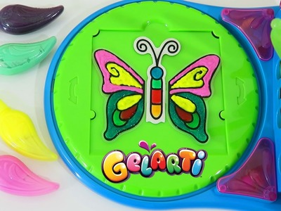 Gelarti Butterfly World Designer Studio Playset | Design Your Own Colorful Butterfly Stickers!
