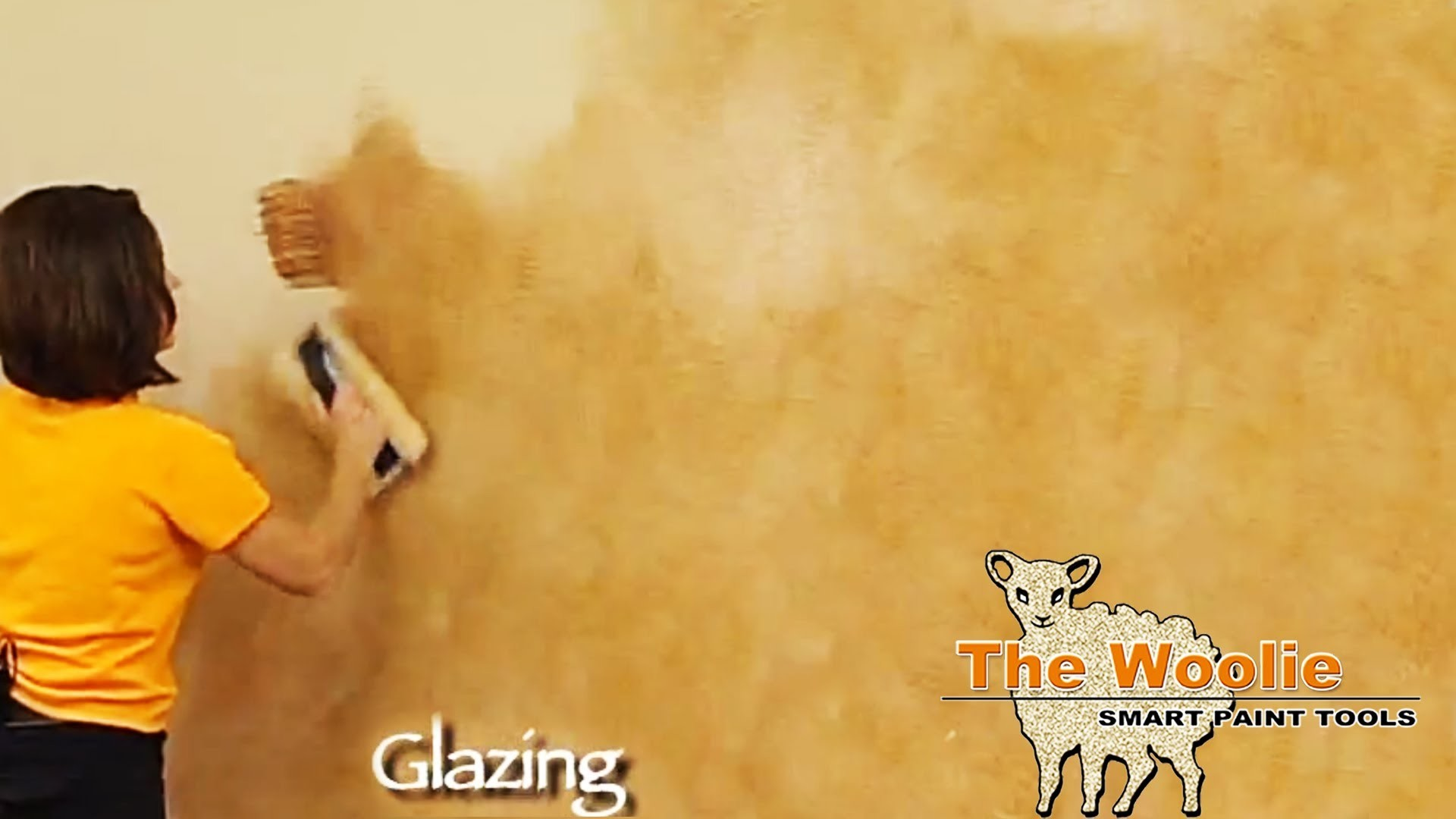 Glazing Color Wash Faux Finish Painting by The Woolie (How To Paint Your Walls)