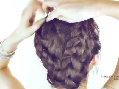 ★ HAIR TUTORIAL | MERMAID MILKMAID BRAID UPDOS | CUTE HAIRSTYLES FOR SCHOOL | FOR MEDIUM LONG HAIR