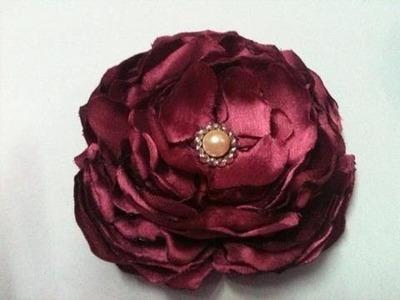 Handmade Fabric Flowers - 01