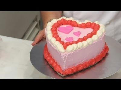 Heart-Shaped Cake Decorating Ideas : Cake Decoration Ideas