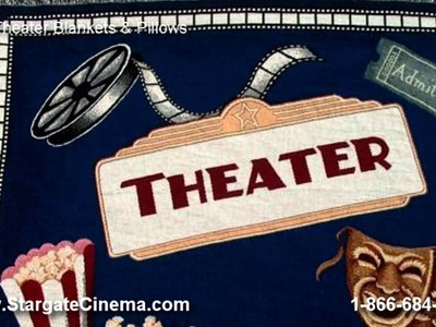 Home Theater Decor and Accessories by Stargate Cinema