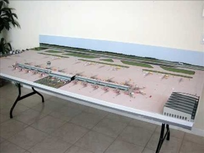 How to Build a Miniature Model Airport