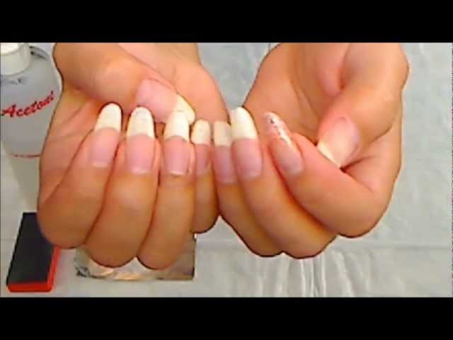 How to DIY safely remove soak off gel nail polish foil method at home