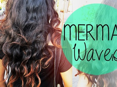 How to do Mermaid Waves | Hair Tutorial