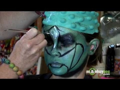How to Face Paint a Galactic Alien