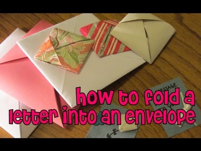 How To Fold A Letter Into An Envelope