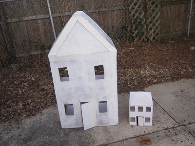 How to make a cardboard house with recycled materials - EP