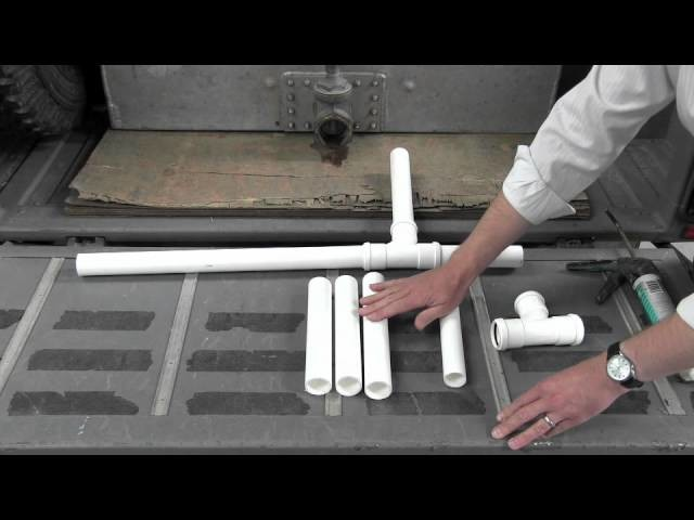 How to make a fishery aeration Venturi unit
