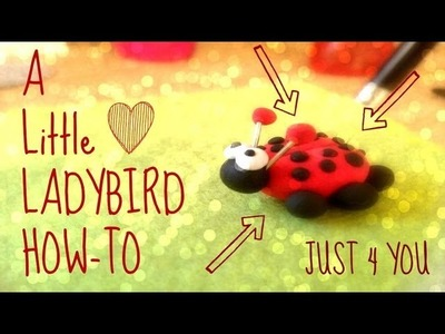 How to make a ladybird out of clay