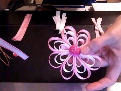 HOW TO: Make a Loopy Flower Bow Tutorial by Just Add A Bow