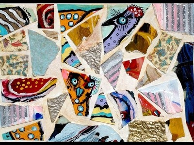 How To Make a Paper Mosaic Collage