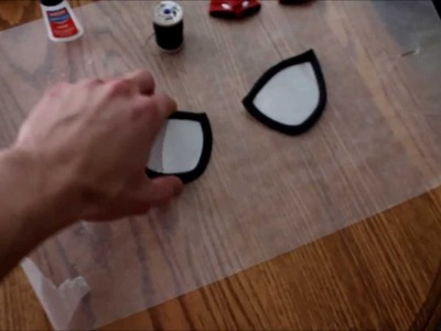 How to make Amazing Spiderman Costume Part 3 End