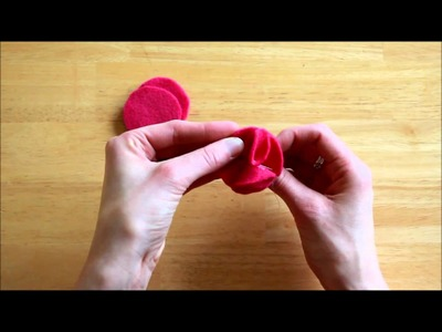 How to Make Felt Flower Pins or Brooch