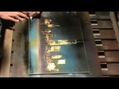 How to make one world trade center New York city - spray paint art tutorial