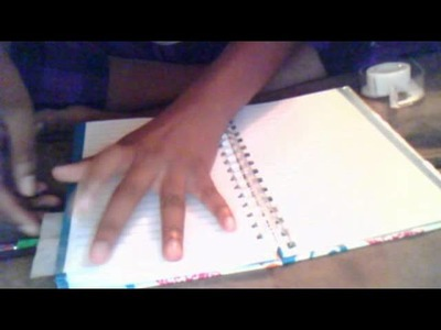 How to make tabs for your book or binder