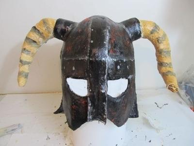 How to make the Skyrim Iron Helmet