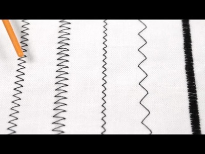 How To Sew a Zig Zag Stitch (Tutorial)
