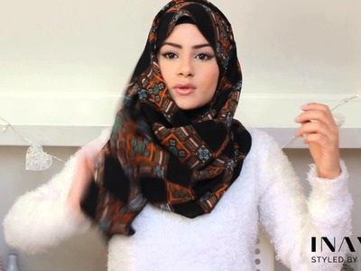 How To Style Your INAYAH Scarf | Hijab Tutorial #6