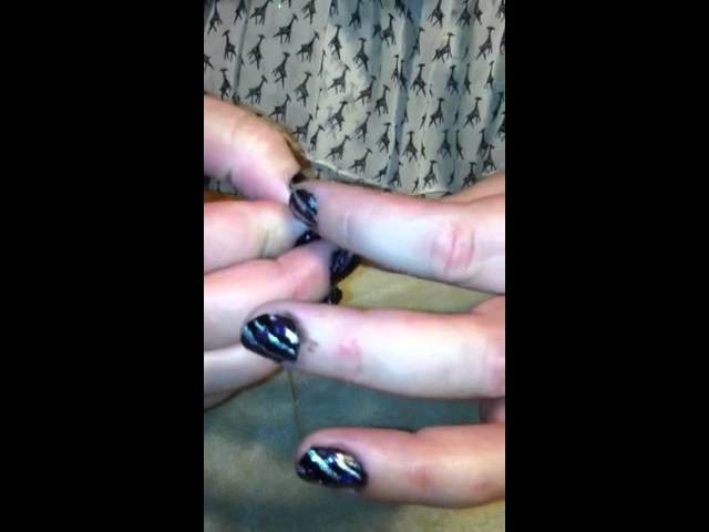How to. Toe Rings