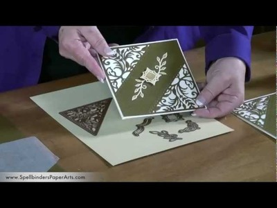 How to Use Botanical Swirls and Accents Dies